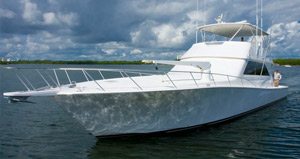viking yacht for charter in fort lauderdale