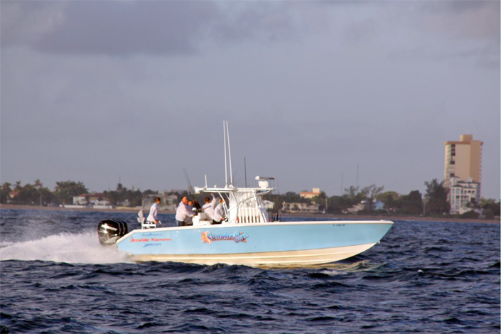 Fort Lauderdale Center Console Fishing Charter